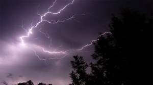 streaking lightning